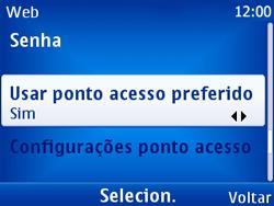 Nokia X2-01 - Internet - Como configurar seu celular para navegar através de Vivo Internet - Etapa 9