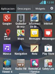 LG Optimus L3 II - Mensajería - Configurar el equipo para mensajes de texto - Paso 3