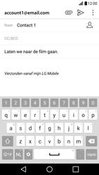 LG G5 - E-mail - hoe te versturen - Stap 10