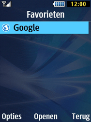 Samsung B2710 Xcover 271 - Internet - Hoe te internetten - Stap 13