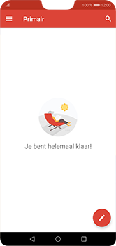Huawei P20 Lite - E-mail - handmatig instellen (gmail) - Stap 6