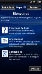 Sony Ericsson Xpéria Arc - Premiers pas - Créer un compte - Étape 3