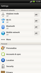 HTC S720e One X - MMS - Manual configuration - Step 4