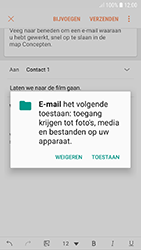 Samsung galaxy-a3-2017-android-oreo - E-mail - Bericht met attachment versturen - Stap 13