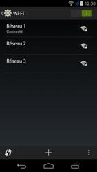 Acer Liquid Jade Z - WiFi et Bluetooth - Configuration manuelle - Étape 8