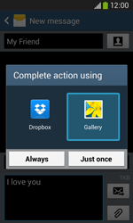 Samsung Galaxy Core Plus - Mms - Sending a picture message - Step 15