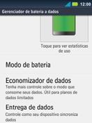 Motorola Master XT605 - Rede móvel - Como ativar e desativar uma rede de dados - Etapa 5