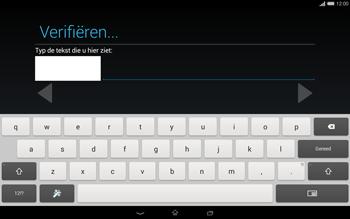 Sony Xperia Tablet Z2 4G (SGP521) - Applicaties - Account aanmaken - Stap 19