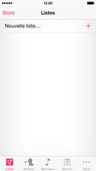 Apple iPhone 5s (iOS 8) - Photos, vidéos, musique - Ecouter de la musique - Étape 3