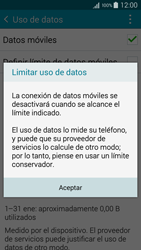 Samsung Galaxy A3 - Internet - Ver uso de datos - Paso 9