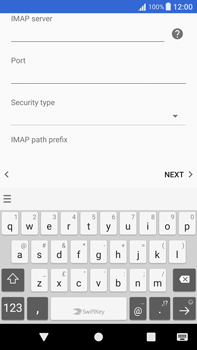 Sony Xperia XA1 Plus - Email - Manual configuration - Step 13