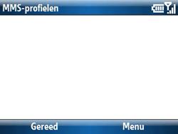 Samsung C6620 - MMS - handmatig instellen - Stap 16