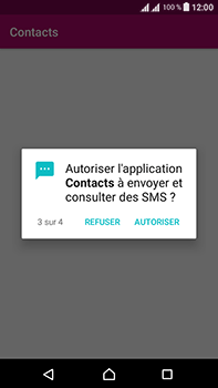 Sony Xperia L1 - Contact, Appels, SMS/MMS - Ajouter un contact - Étape 6