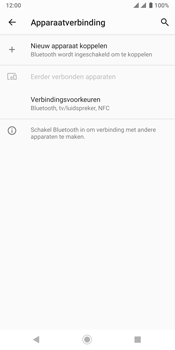 Sony xperia-xz3-dual-sim-model-h9438 - Bluetooth - Headset, carkit verbinding - Stap 5