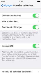 Apple iPhone 5c iOS 9 - Réseau - Désactiver Internet UE - Étape 5