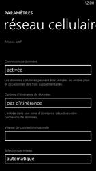 Nokia Lumia 1320 - Internet - Configuration manuelle - Étape 6