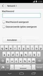 Huawei Ascend P7 - WiFi - Handmatig instellen - Stap 8