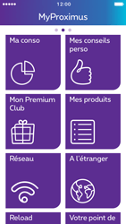 Apple iPhone 5 iOS 10 - Applications - MyProximus - Étape 16