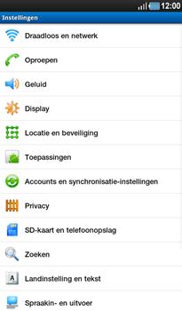 Samsung P1000 Galaxy Tab - MMS - Handmatig instellen - Stap 4
