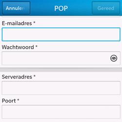 BlackBerry Q10 - E-mail - Handmatig instellen - Stap 9