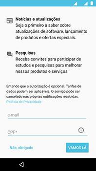 Motorola Moto Z2 Play - Primeiros passos - Como ativar seu aparelho - Etapa 19