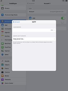 Apple iPad Pro 10.5 inch met iOS 11 (Model A1709) - E-mail - Instellingen KPNMail controleren - Stap 12
