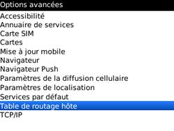 BlackBerry 9300 Curve 3G - Paramètres - reçus par SMS - Étape 5