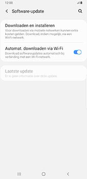 Samsung Galaxy S8+ - Android Pie (SM-G955F) - Software updaten - Update installeren - Stap 5