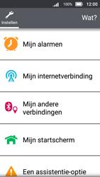 Doro 8031 - Internet - Uitzetten - Stap 4
