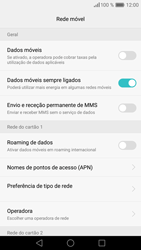 Huawei P9 Lite - Internet no telemóvel - Como ativar os dados móveis -  6