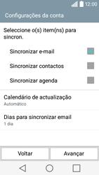 LG Y50 / LEON - Email - Adicionar conta de email -  8