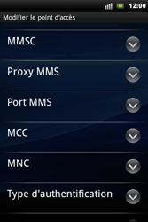 Sony Ericsson Xperia Mini Pro - MMS - configuration manuelle - Étape 10