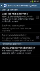 Samsung G386F Galaxy Core LTE - Resetten - Fabrieksinstellingen terugzetten - Stap 6