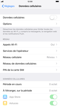 Apple iPhone 8 Plus - iOS 12 - Internet - activer ou désactiver - Étape 5