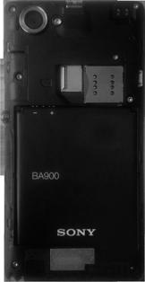 Sony Xperia L - Primeros pasos - Quitar y colocar la batería - Paso 3