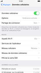 Apple iPhone 7 - iOS 12 - Internet - Utilisation à l