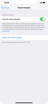 Apple iPhone XS Max - Data - maak een back-up met je account - Stap 14