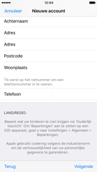 Apple iPhone 7 (Model A1778) - Applicaties - Account aanmaken - Stap 24