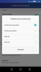 Huawei Huawei Y6 - Red - Seleccionar el tipo de red - Paso 6
