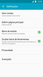 Samsung Galaxy S5 - Internet no telemóvel - Como configurar ligação à internet -  21