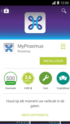Huawei Ascend Y550 - Applicaties - MyProximus - Stap 7