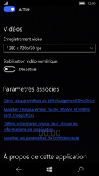 Microsoft Lumia 650 - Photos, vidéos, musique - Créer une vidéo - Étape 9