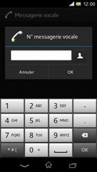 Sony C1905 Xperia M - Messagerie vocale - Configuration manuelle - Étape 8