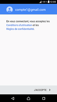 Sony Xperia XA1 Ultra - E-mails - Ajouter ou modifier votre compte Gmail - Étape 12