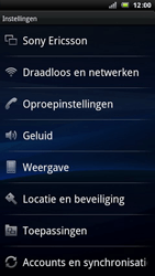 Sony Ericsson LT15i Xperia Arc - MMS - probleem met ontvangen - Stap 6