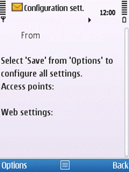 Nokia C5-00 - Internet - Automatic configuration - Step 6