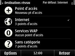 Nokia E6-00 - Wifi - configuration manuelle - Étape 6