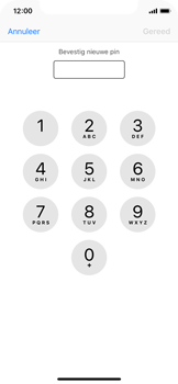 Apple iphone-xs-model-A1920 - Beveiliging en ouderlijk toezicht - Hoe wijzig ik mijn SIM PIN-code - Stap 10