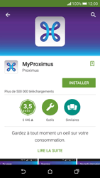 HTC Desire 626 - Applications - MyProximus - Étape 8
