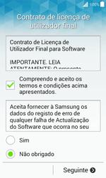 Samsung Galaxy J1 - Primeiros passos - Como ligar o telemóvel pela primeira vez -  8